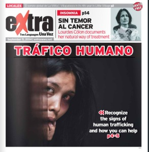 HUMAN TRAFICKING COVER